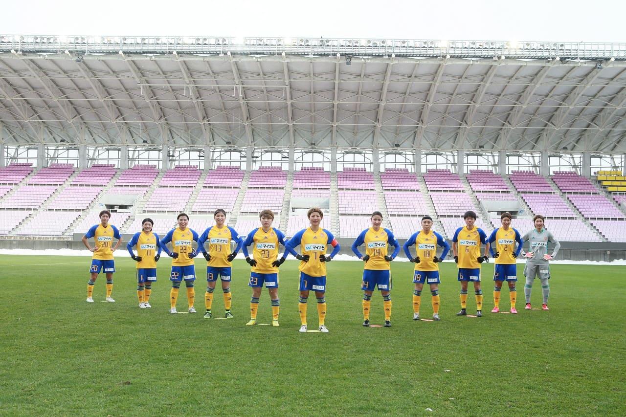 マイナビ仙台レディース 皇后杯 集合写真