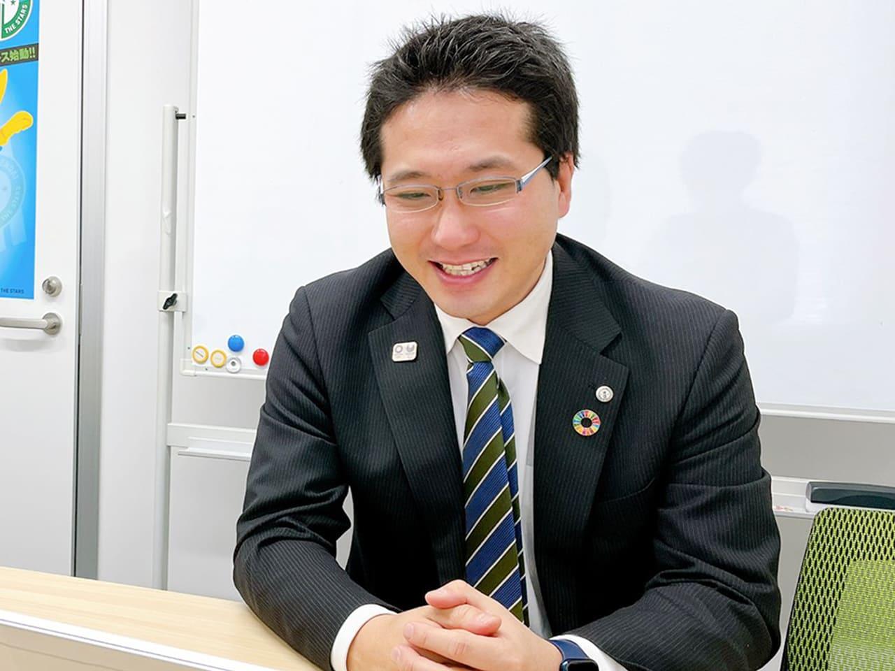 マイナビ粟井社長 インタビューカット