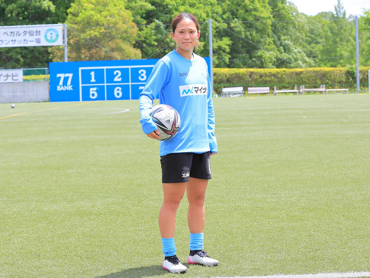 マイナビ仙台レディース 長野風花選手
