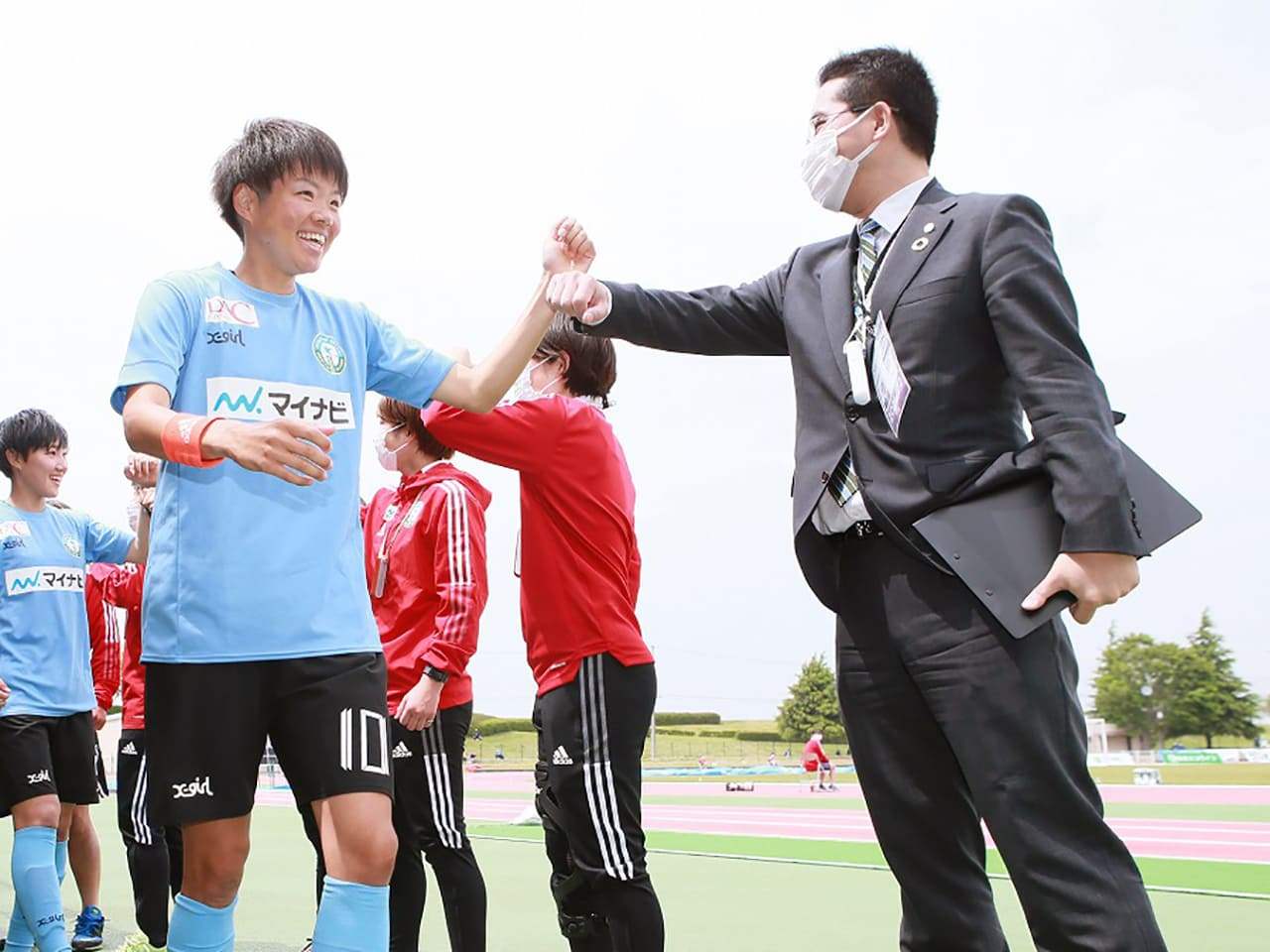 株式会社マイナビフットボールクラブ 代表取締役社長 粟井俊介さん